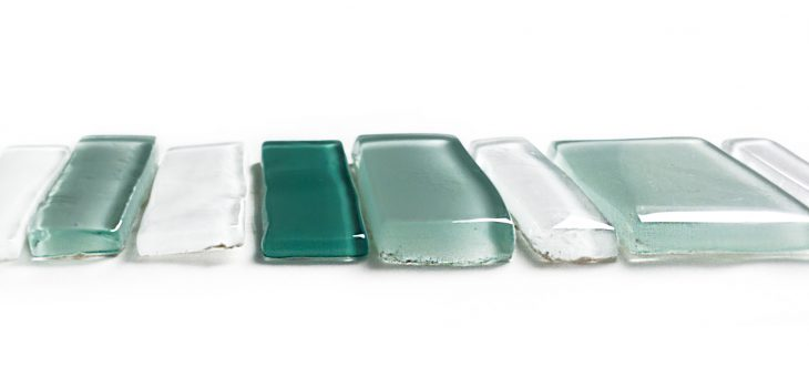 montaż mozaiki szklanej