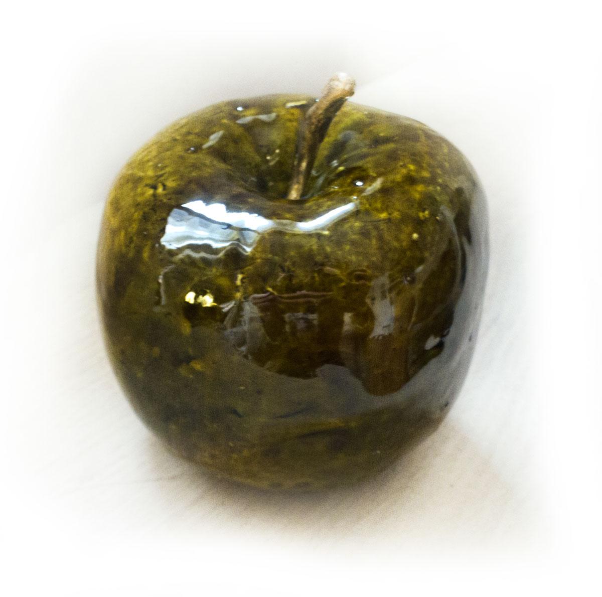 ceramiczne jabłko