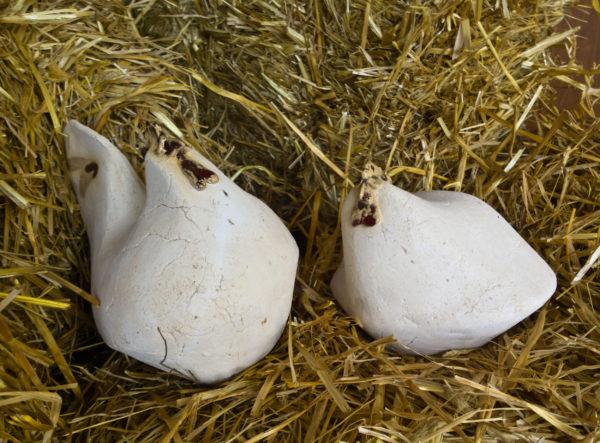 ceramiczna parka kur