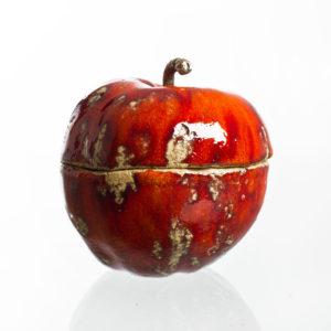 ceramiczne jabłko cukierniczka
