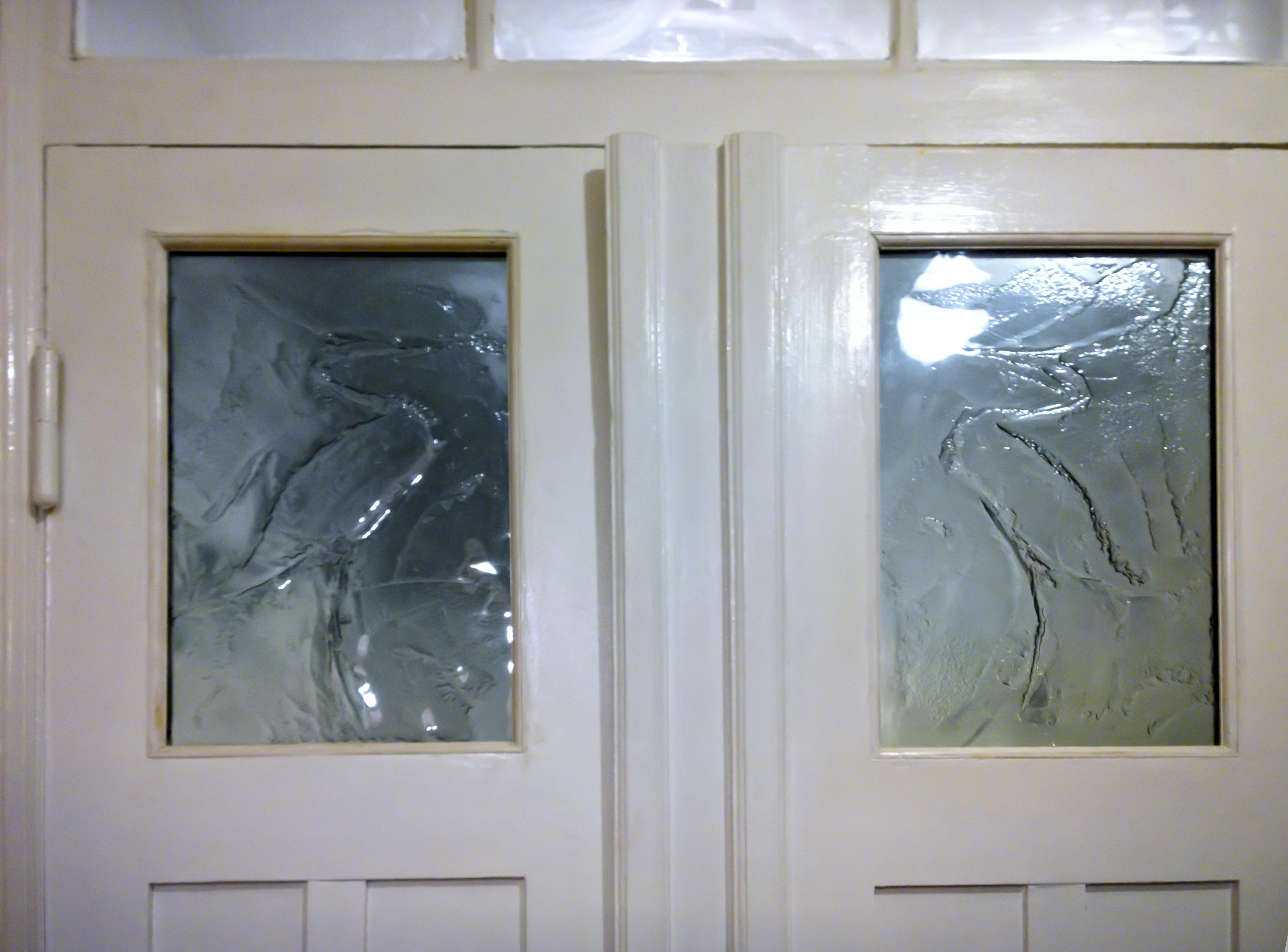 szyby dekoracyjne w drzwiach