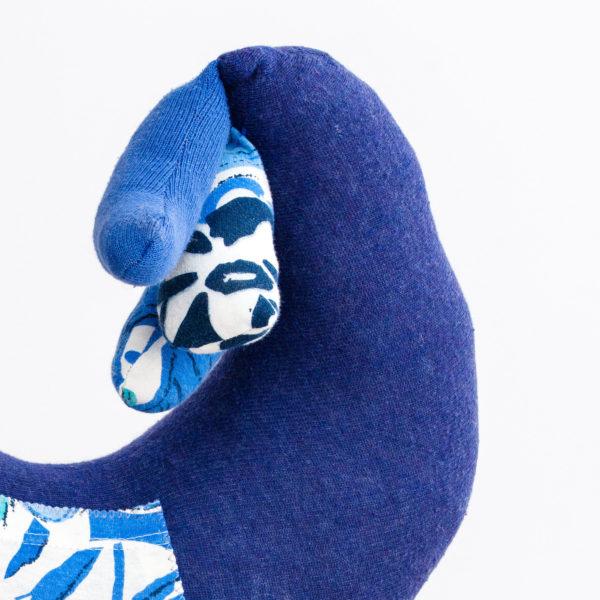 poduszka-podgłówek w kształcie kury
